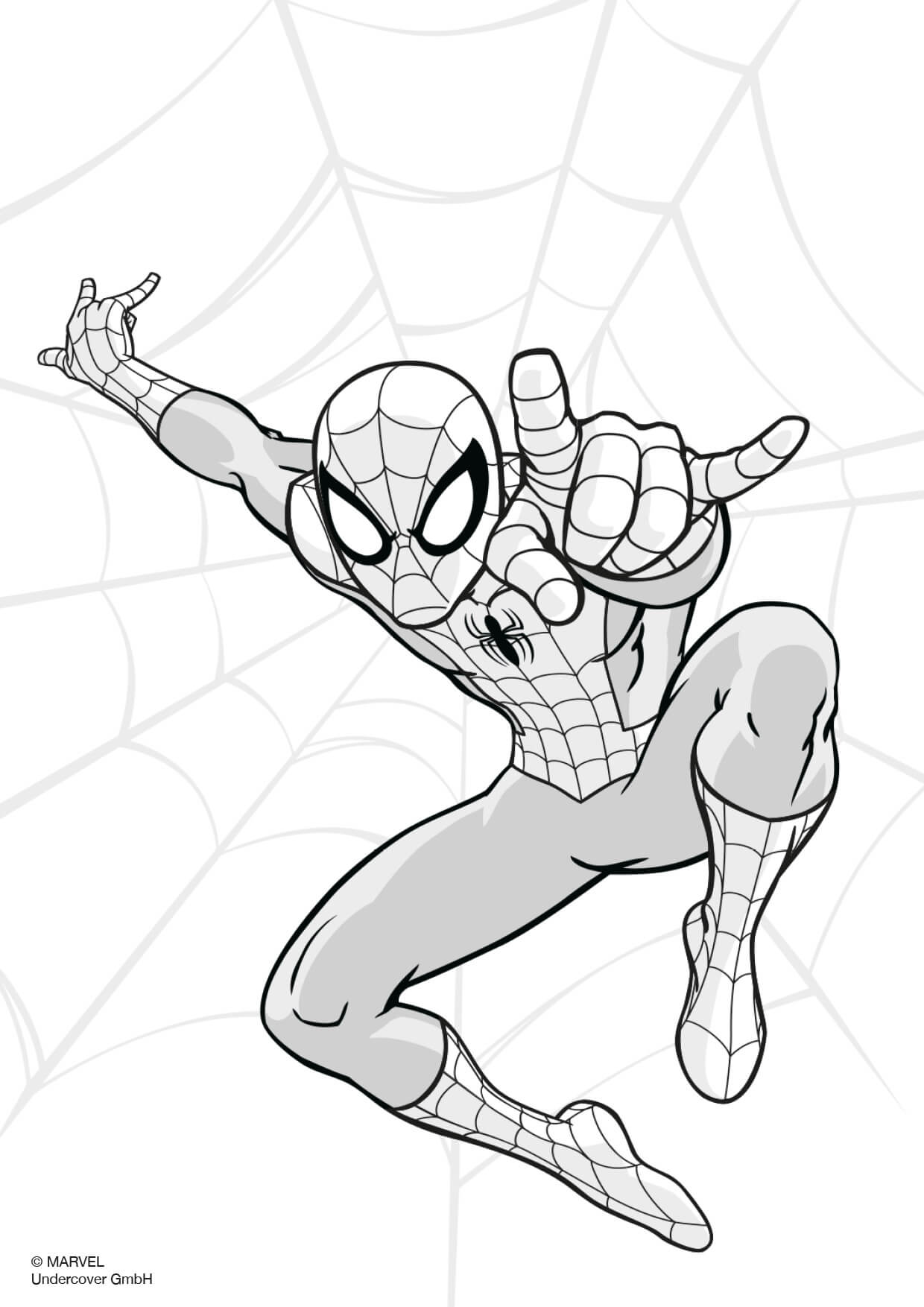 Spider Man Scooli