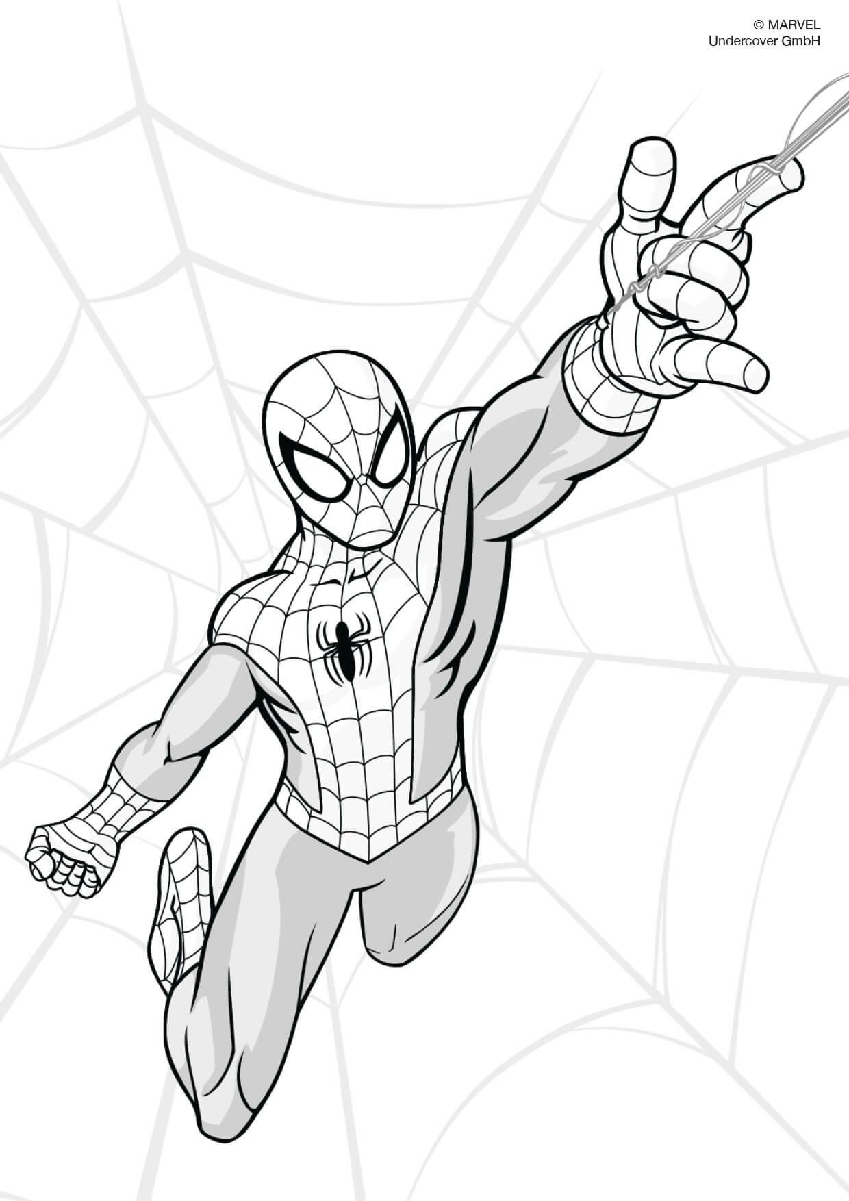 spiderman bilder zum ausdrucken